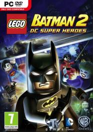 Обложка Lego Batman 2: DC Super Heroes