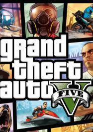 Обложка Grand Theft Auto V
