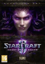 Обложка Starcraft II: Heart of the Swarm